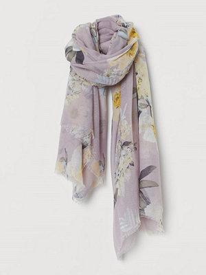 H&M Skir scarf lila