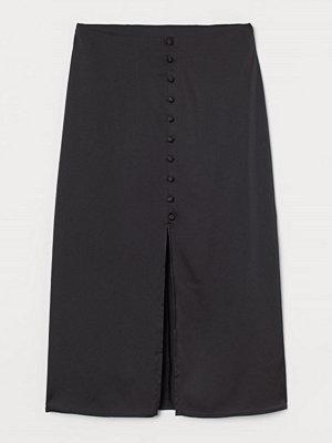 Kjolar - H&M Kjol med slits svart