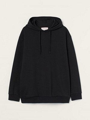 Street & luvtröjor - H&M Oversized huvtröja svart