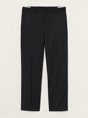 H&M Kostymbyxa i ull svart