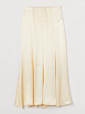 Kjolar - H&M Lång kjol gul
