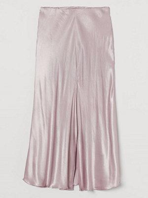 Kjolar - H&M Slipkjol lila