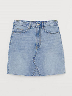 Kjolar - H&M Jeanskjol blå