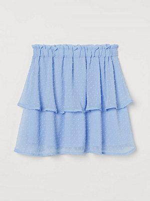 Kjolar - H&M Chiffongkjol blå