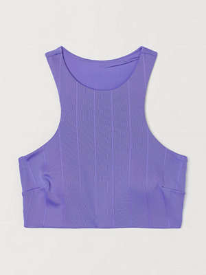 H&M Vadderad bikinitopp purple