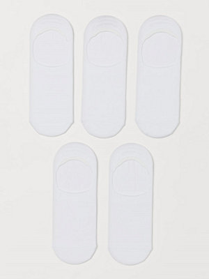 H&M 5-pack COOLMAX® strumpor vit
