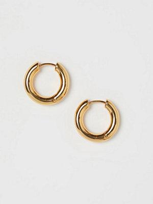 H&M Guldpläterade örhängen guld