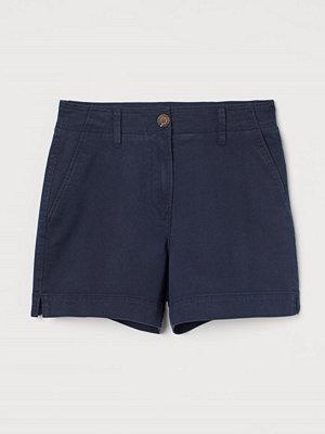 Shorts & kortbyxor - H&M Shorts i bomullstwill blå