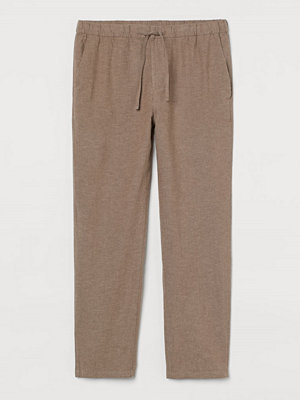 H&M Byxa Relaxed Fit beige