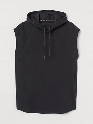 Street & luvtröjor - H&M Sporttröja Relaxed Fit svart