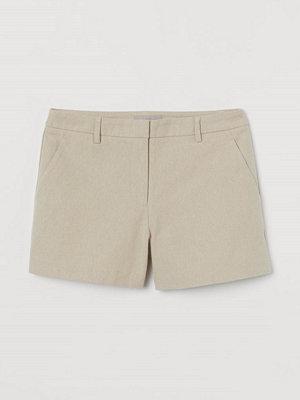 H&M Dressade twillshorts beige