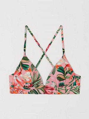 H&M Push up bikini-bh rosa