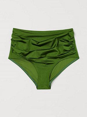 H&M H & M+ Bikinitrosa highwaist grön