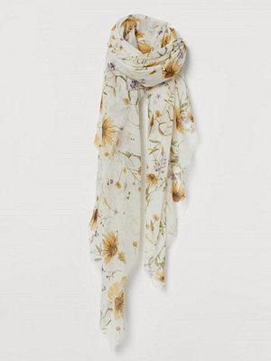 H&M Skir scarf vit