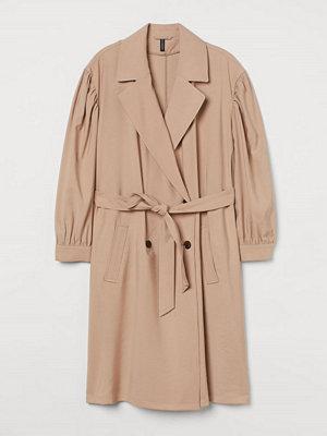H&M H & M+ Kort trenchcoat beige
