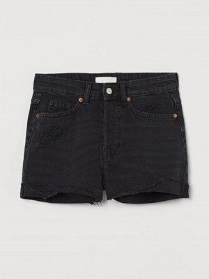 H&M Jeansshorts grå