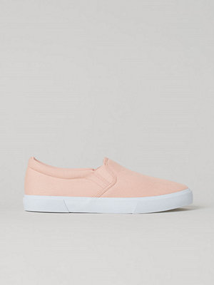 H&M Slip on-sneakers rosa