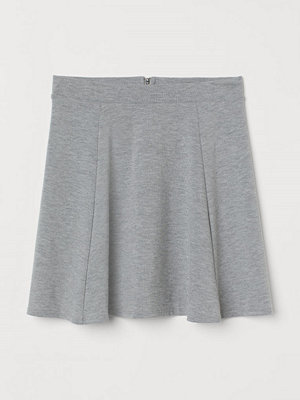H&M Cirkelskuren kjol grå