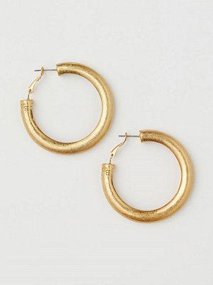 H&M Chunky örhängen guld