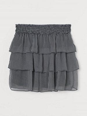 H&M Volangkjol svart