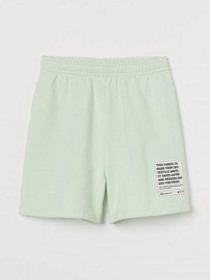 H&M Shorts i bomull grön