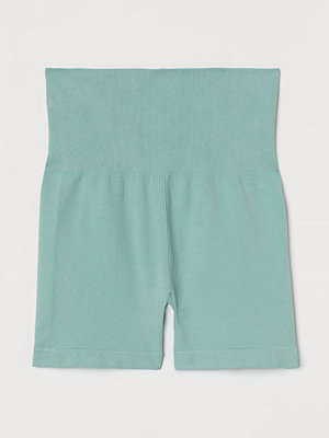 H&M Seamless hotpants turkos