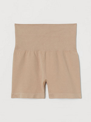 H&M Seamless hotpants beige