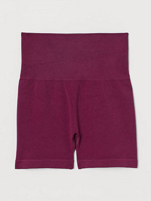 H&M Seamless hotpants rosa