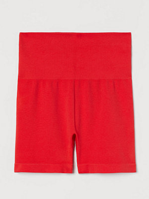 Shorts & kortbyxor - H&M Seamless hotpants röd
