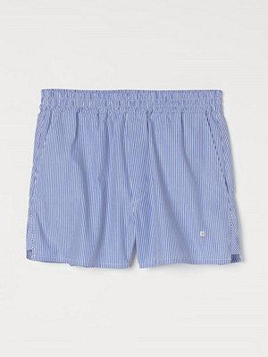 H&M Vida bomullsshorts blå