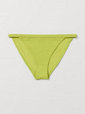 H&M Bikinitrosa tanga grön