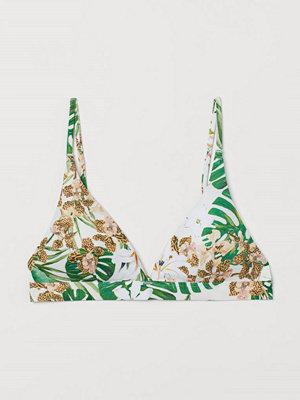 Bikini - H&M Vadderad trekantsbikini-bh vit