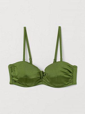 Bikini - H&M Balconettebikini-bh grön