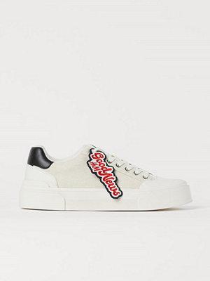 Sneakers & streetskor - H&M Sneakers vit