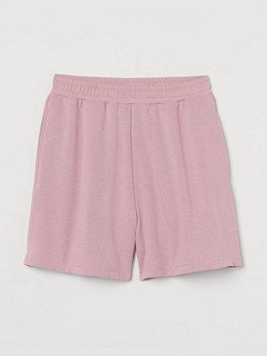 H&M Sweatshirtshorts rosa