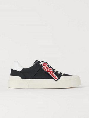 Sneakers & streetskor - H&M Sneakers svart