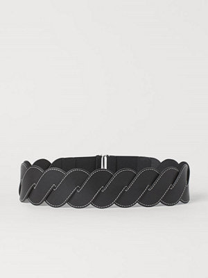 Bälten & skärp - H&M Flätat midjeskärp svart