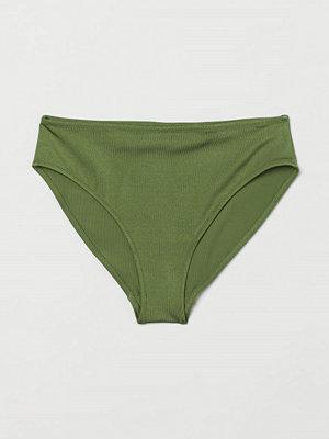 H&M Bikinitrosa briefs grön