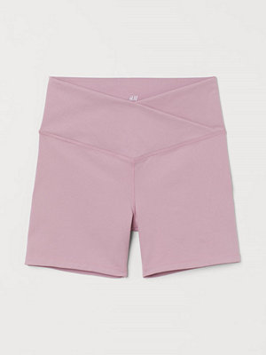 H&M Hotpants High Waist rosa