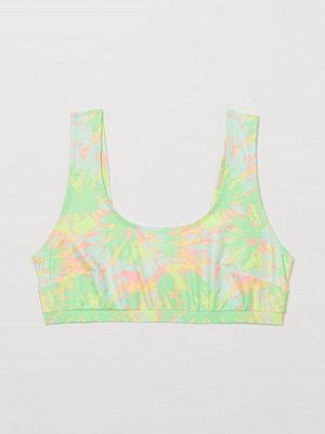 H&M H & M+ Bikinitopp gul