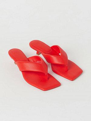 H&M Slip in-sandaletter orange