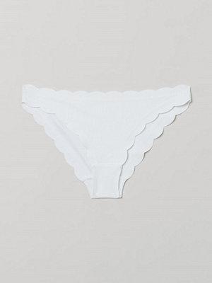 H&M Bikinitrosa briefs vit