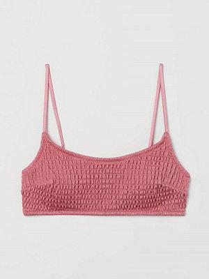 H&M Vadderad bikinitopp rosa