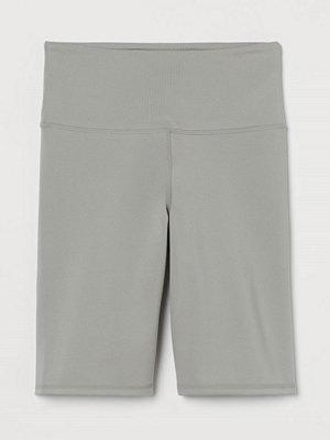 H&M Träningscykelbyxa grå