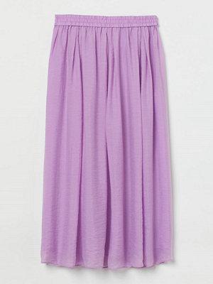 H&M Cirkelskuren kjol lila