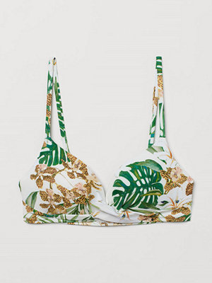 H&M Push up bikini-bh vit