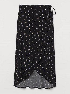 H&M Omlottkjol svart