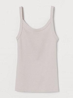 Linnen - H&M Ribbat linne rosa