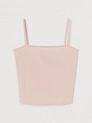 H&M Kort linne rosa