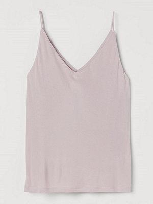 H&M V-ringat linne rosa